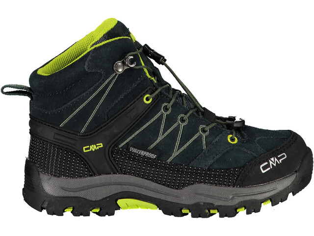 CMP Campagnolo Rigel WP Chaussures de trekking mi-hautes Enfant, jungle/energy